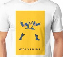 Wolverine Flat Design Unisex T-Shirt