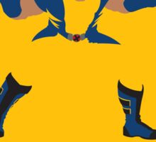 Wolverine Flat Design Sticker