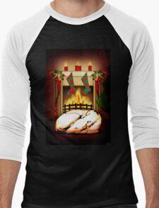 Home for the Holidays Men's Baseball ¾ T-Shirt