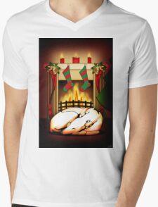 Home for the Holidays Mens V-Neck T-Shirt