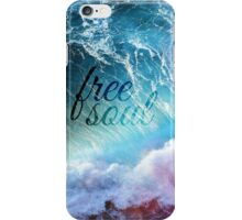 FREE SOUL iPhone Case/Skin