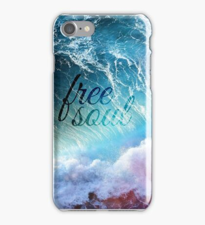 FREE SOUL iPhone Case/Skin