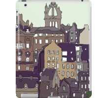 Edinburgh View iPad Case/Skin
