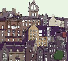 Edinburgh View by Haidee Bain