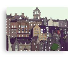 Edinburgh View Canvas Print