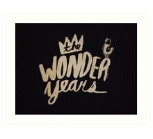 The Wonder Years Art Print