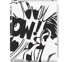 Pow Comic vintage iPad Case/Skin