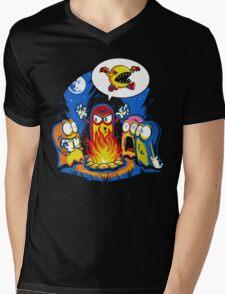 8-Bit Horror Mens V-Neck T-Shirt