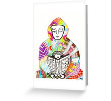 Color emotion Greeting Card
