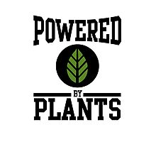 Powered by Plants Photographic Print
