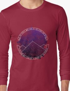 Look At The Stars And Wish   Night Court Long Sleeve T-Shirt
