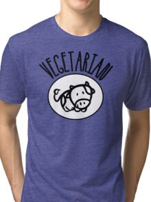 Vegetarian Tri-blend T-Shirt