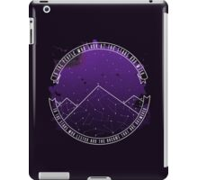Look At The Stars And Wish | Night Court iPad Case/Skin
