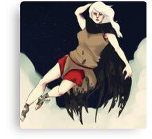 Death (Femme) Canvas Print