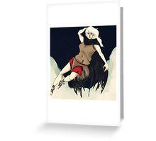 Death (Femme) Greeting Card