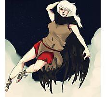 Death (Femme) Photographic Print
