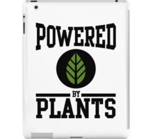 Powered by Plants iPad Case/Skin