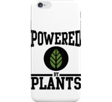 Powered by Plants iPhone Case/Skin