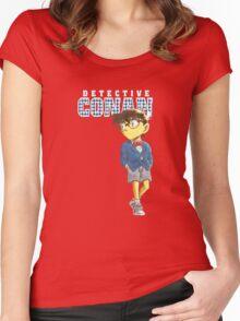 Detective Conan Cartoon Women's Fitted Scoop T-Shirt