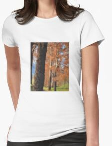 Autumn © Vicki Ferrari Womens Fitted T-Shirt