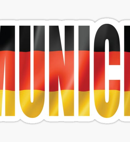 Munich Sticker