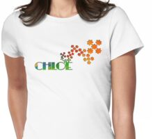 The Name Game - Chloe Womens Fitted T-Shirt