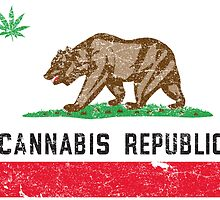 Vintage Cannabis Republic by medallion