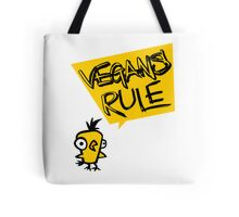 Vegans rule Tote Bag