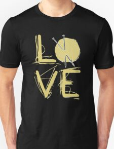 I Love Knitting - I Love Knitting Shirt Unisex T-Shirt