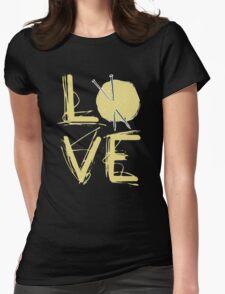 I Love Knitting - I Love Knitting Shirt Womens Fitted T-Shirt