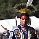 Red Head~ Indian brave by Sassafras