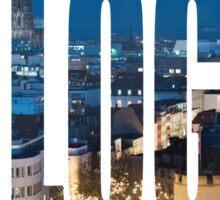 Cologne Sticker