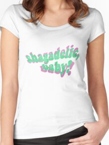 Shagadelic, Baby! Women's Fitted Scoop T-Shirt