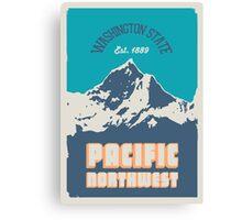 Pacific Northwest. Canvas Print