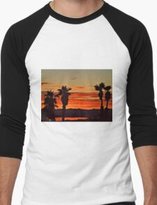 Lake Havasu Evening Men's Baseball ¾ T-Shirt