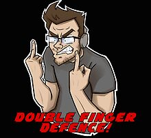 DOUBLE FINGER DEFENCE - Markiplier by Trudy Dean