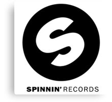 Spinnin' Records [Limited] Canvas Print
