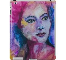 Colourful portrait iPad Case/Skin