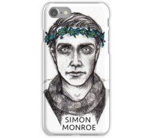 Simon Monroe iPhone Case/Skin