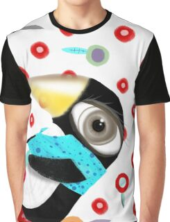 Bed of Roses Happy Penguin Graphic T-Shirt