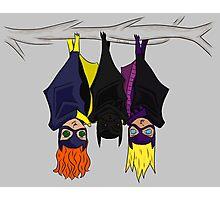 The Bat-girls Photographic Print
