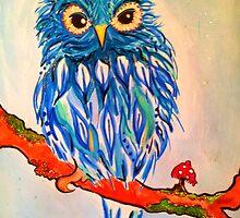 Little Blue Owlie ! by jonkania