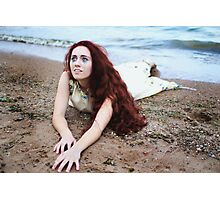 The Girl in the Ocean ii Photographic Print