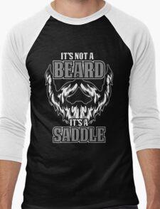 its not a beard  Men's Baseball ¾ T-Shirt