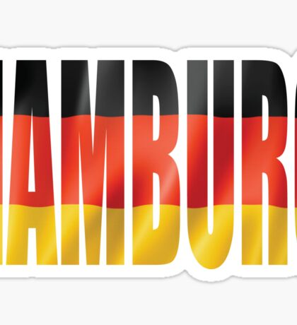 Hamburg. Sticker