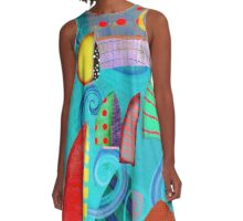 Regatta Art Collection - Rupydetequila A-Line Dress