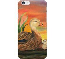 Mallard Duck Family iPhone Case/Skin