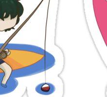 Quinx Summer- Aura and Higemaru Sticker