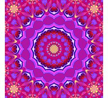 Mandala - Simply Love III  Photographic Print
