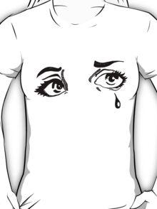 Hand Drawn Pop Art Eyes in Ink T-Shirt